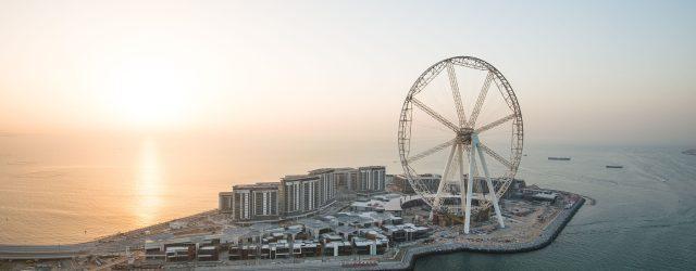 Grootste reuzenrad ter wereld, Ain Dubai, opent in 2020
