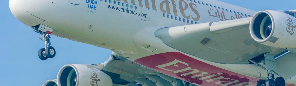 Vliegen met Emirates