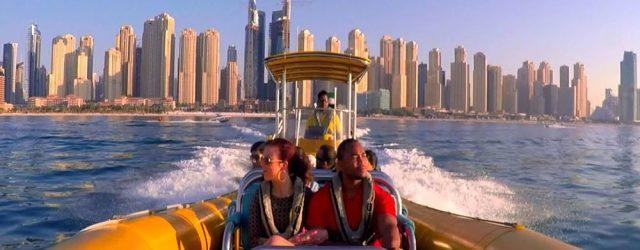 The Yellow Boats in Dubai