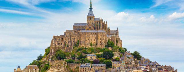Mont Saint-Michel in Frankrijk