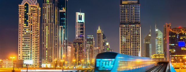 Hoe gebruik je de metro in Dubai
